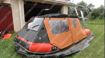 Тент ходовой и транспортировочный для судна на воздушной подушке