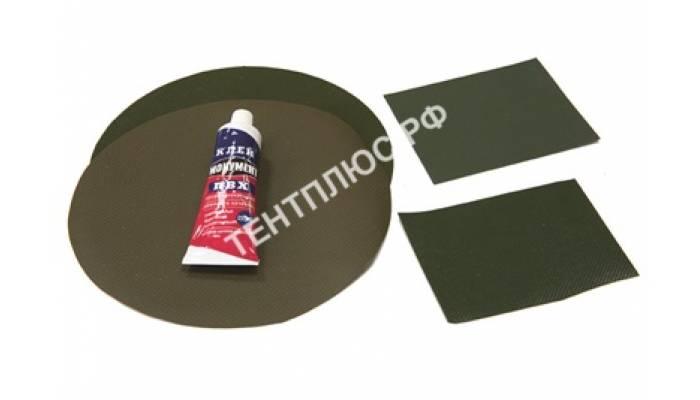 Ремкомплект (клей 50 гр + ткань ПВХ)