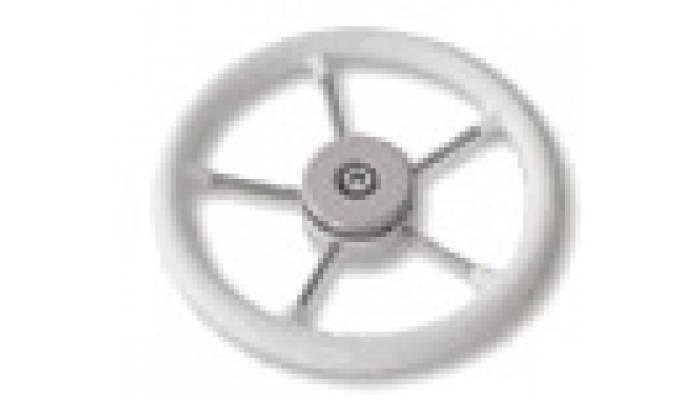 Рулевое колесо диаметр 325 мм (серое)