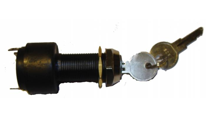 Замок зажигания с комплектом ключей (3 контакта)