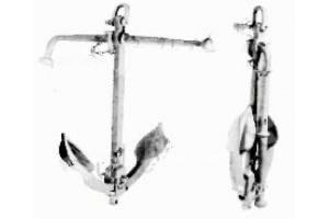 Якорь адмиралтейский складной 5 кг