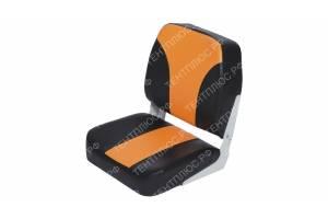 Сиденье складное для лодки низкая спинка (40 см от подушки)
