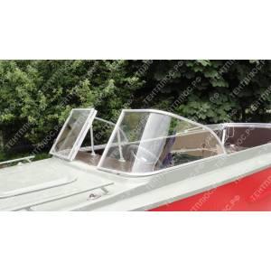 Стекло с калиткой для лодки  Амур-В (Восток)