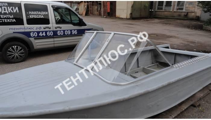 Стекло с калиткой для лодки Ока-4