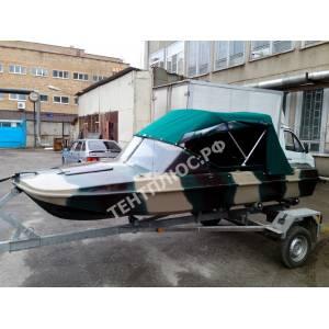 Тент  на лодку Обь-3