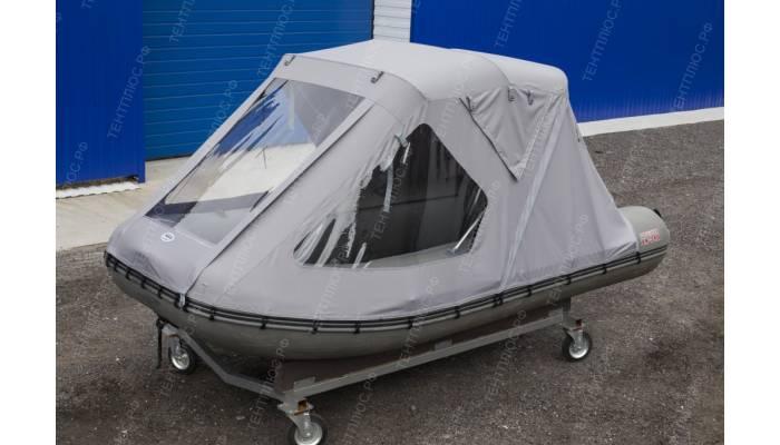 Тент трансформер для лодки ПВХ Викинг 340 (Посейдон)