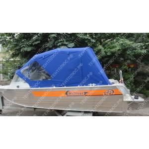 Тент на лодку Вельбот 45