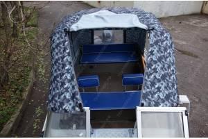 Тент на лодку WINDBOAT-46 (ВИНДБОТ-46)