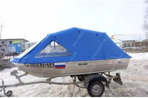 Тент на лодку Квинтрекс 390 Дарт (Quinrtex 390 Dart)