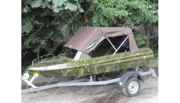 Тент с дугами на лодку Неман-1