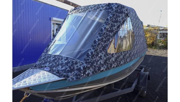 Тент на лодку Вельбот 390 New Style