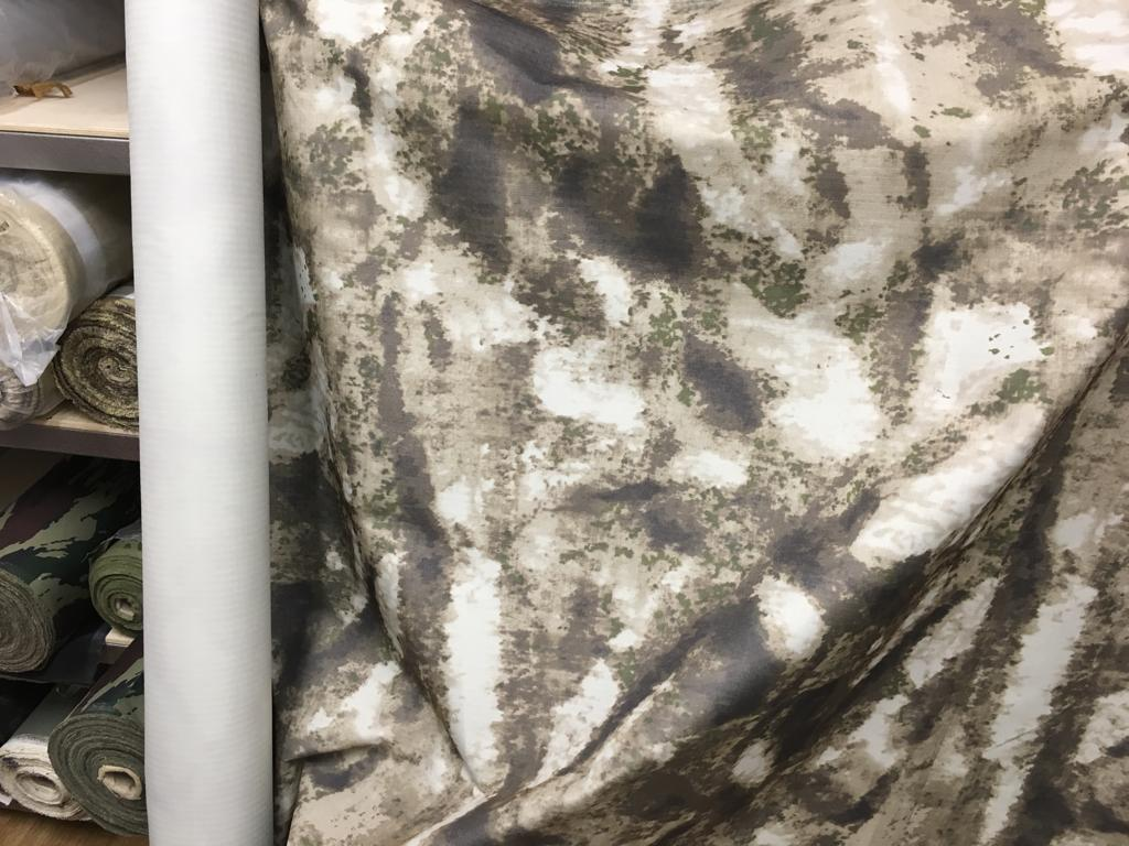 Ткань Оксфорд 600D в рип-стопе с полиуретановым покрытием